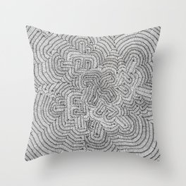 THE RACEWAY IN THE FRACTAL UNIVERSE! Throw Pillow