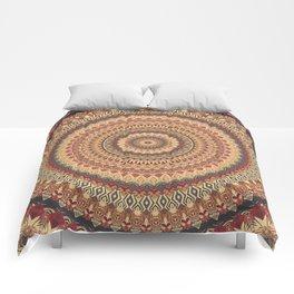 Earth Mandala 3 Comforters