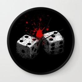 Lucky 7-Dice roll-Seven deadly sins-Gambling Wall Clock