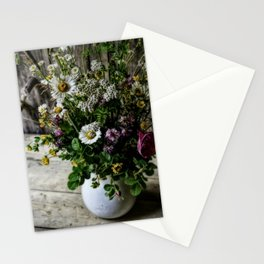 July Bouquet Stationery Cards