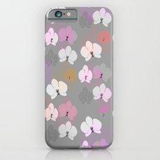 Grey Orchids Slim Case iPhone 6s