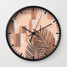 Leafy N. 2 Wall Clock