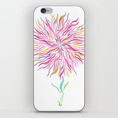 Pink Fairy Flower iPhone Skin