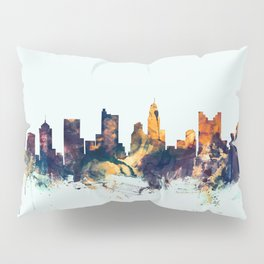 Columbus Ohio Skyline Pillow Sham