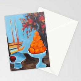 golden girls fruit bowl Stationery Cards