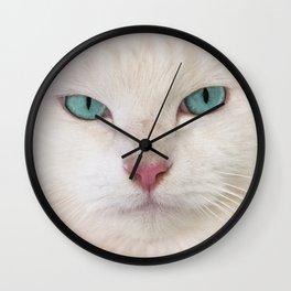 WHITE DELIGHT Wall Clock