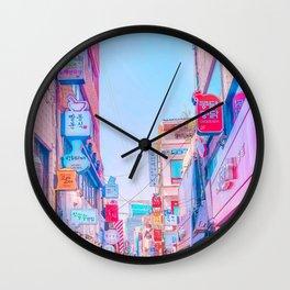 Anime Seoul Wall Clock