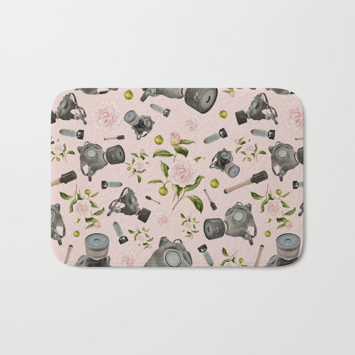 Don't stop to smell the roses Bath Mat