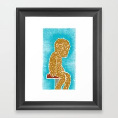 Lupus Kid Framed Art Print