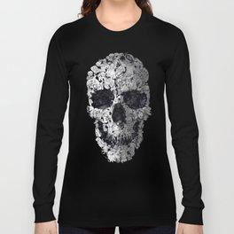Doodle Skull Long Sleeve T-shirt