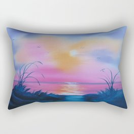 Early morning glow Rectangular Pillow