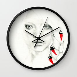 DESERT PEA CHILD - Soul Discovery Wall Clock