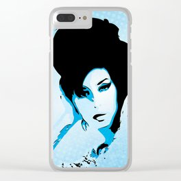 Love Amy - Valerie - Pop Art Clear iPhone Case