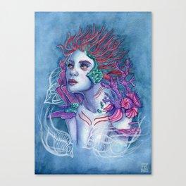 Gaia Of The Deep Canvas Print