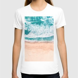 Faded ocean life T-shirt