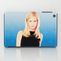 buffy iPad Cases featuring Buffy the Vampire Slayer, Cross by Your Friend Elle