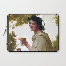"William-Adolphe Bouguereau ""Bacchante"" Laptop Sleeve"