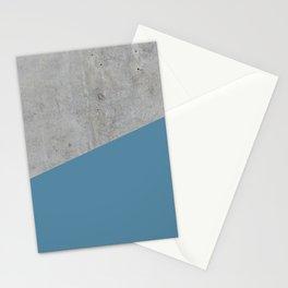 Concrete and Niagara Color Stationery Cards