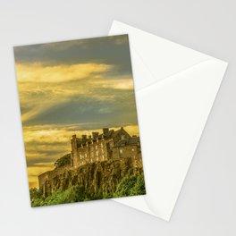 Stirling Castle at Dusk Stationery Cards