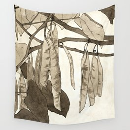 Red Bud by Hannah Borger Overbeck Wall Tapestry