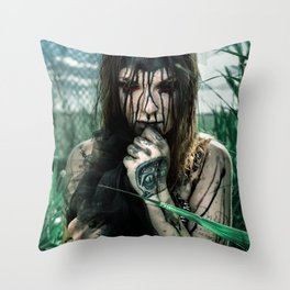 Alamort Throw Pillow