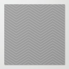 TIRE grey Canvas Print
