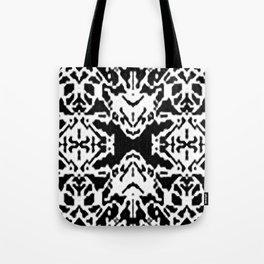 X001_black Tote Bag