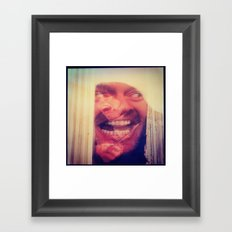 SHINING 4 Framed Art Print