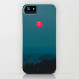 Pink Sunrise iPhone Case