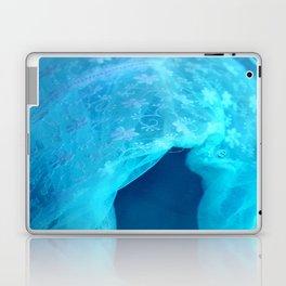 ghost in the swimming pool Laptop & iPad Skin