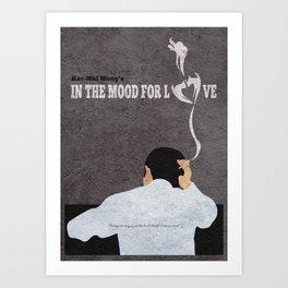 In the Mood for Love Alternative Minimalist Movie Poster Art Print