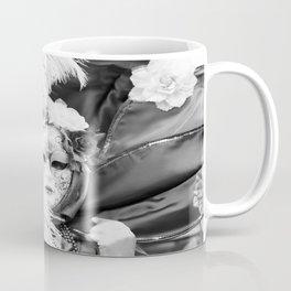 Venetian carnival mask D - Lady Nature Coffee Mug