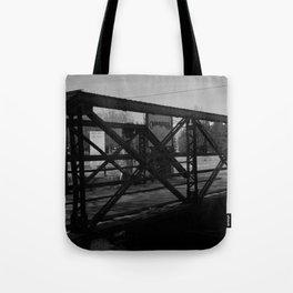 Deserted Bridge Tote Bag