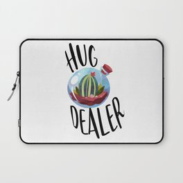 Hug Dealer, Hug Quote, Love Art, Love Quote, Hugs Laptop Sleeve