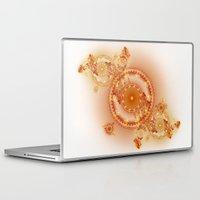 clockwork Laptop & iPad Skins featuring Clockwork by Eli Vokounova