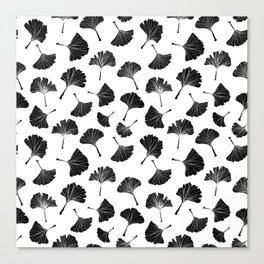 Ginko Leaves Pattern - Mix & Match Canvas Print