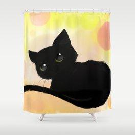 Neko cute! Shower Curtain