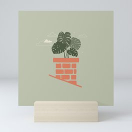 Rooftop Garden Mini Art Print