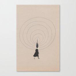 Wifi people Canvas Print
