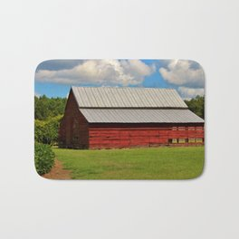 The Old Red Barn Bath Mat