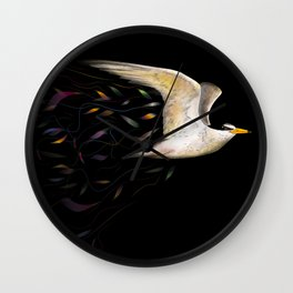 Least Tern, harmonizing with invisible currents. Wall Clock