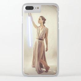 Art Nouveau Scavenger 3 Clear iPhone Case