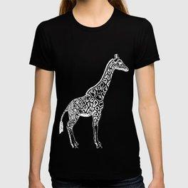 Giraffe Native Forest Herbivore Herds Animal Gift  T-shirt