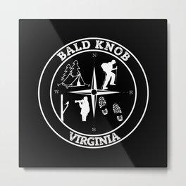 BALD KNOB Metal Print