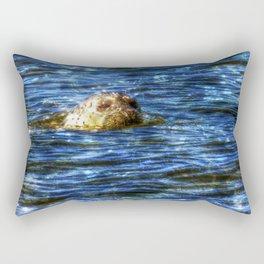 Seal Sparkle Rectangular Pillow