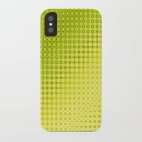 lime green iPhone & iPod Cases featuring Pattern lime green by Christine baessler