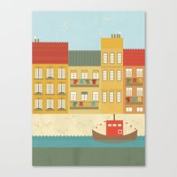 portugal Canvas Prints featuring Portugal by Kakel