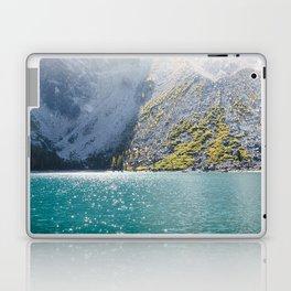 Sparkling Blue Water Alpine Lake Laptop & iPad Skin