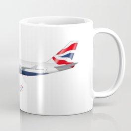 British Airways 747 Coffee Mug