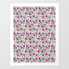 Blobs Art Print
